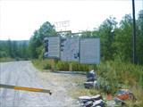 Шлагбаум при въезде в парк Зюраткуль