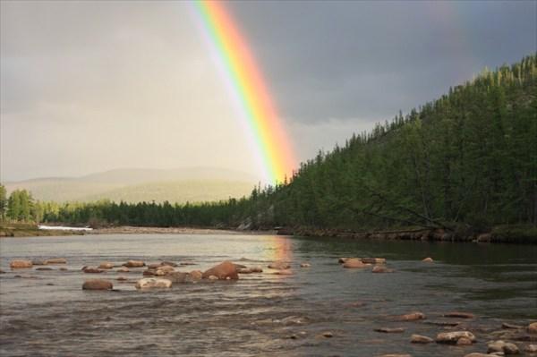 Река Алдан.