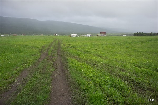 Деревня Александровка