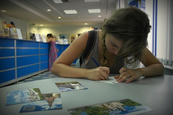 Отправляем открытки дорогим и любимым. Присылайте адреса!
