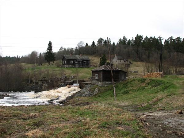 Старая финская мельница