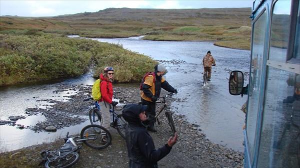 Форсирование реки Отважными