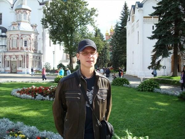 У отца в гостях в Москве, г. Сергиев Посад