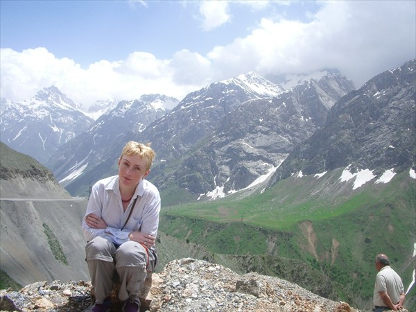 На перевале Шахристан