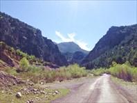 Въезд в каньон