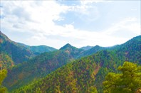 Гребни гор