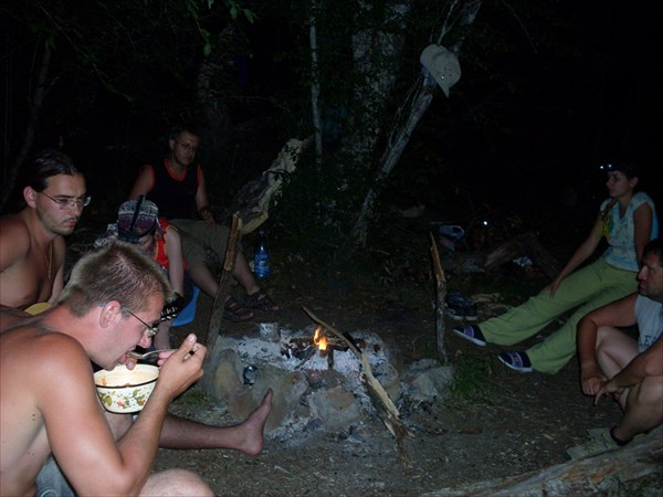 Последняя ночь в горах.