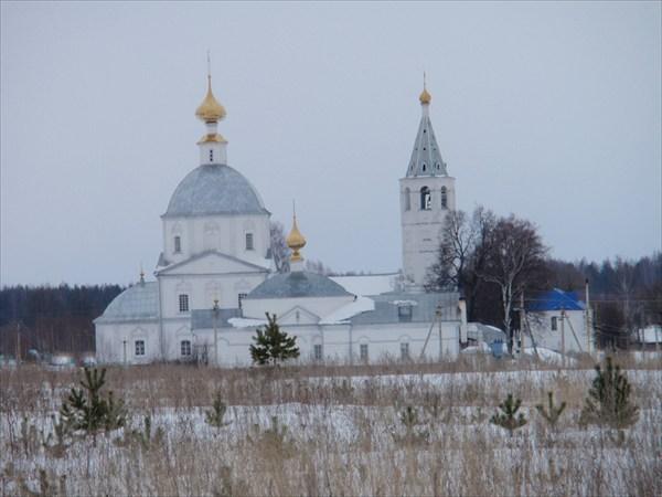 Свято-Никольский женский монастырь в селе Санино