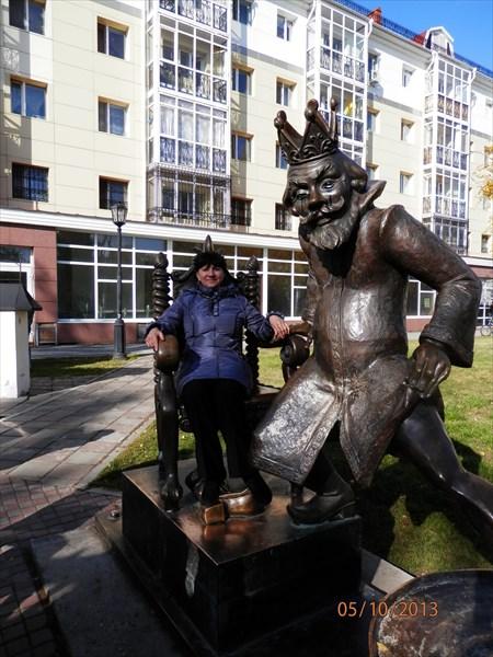 Аллея скульптур, посвященных героям произведений П.П.Ершова